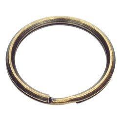 Kółka stożkowe do kluczy breloków 25 mm 100 szt. stare złoto